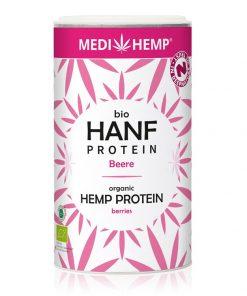 rganický konopný protein Lesní plody, 180 g