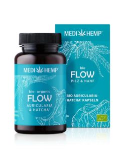 Medihemp Bio FLOW Auricularia-HATCHA® Kapsle