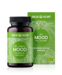 Medihemp Bio MOOD Reishi-HATCHA® Kapsle