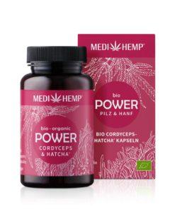 Medihemp Bio POWER Cordyceps militaris-HATCHA® Kapsle
